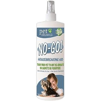 NaturVet DNB04016 No-Go Housebreaking Aid Dog Spray, 16-Ounce