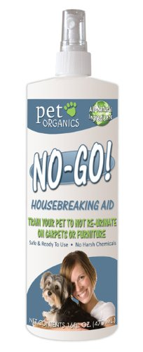 Pet Organics (Nala) NaturVet DNB04016 No-Go Housebreaking Aid Dog Spray, 16-Ounce