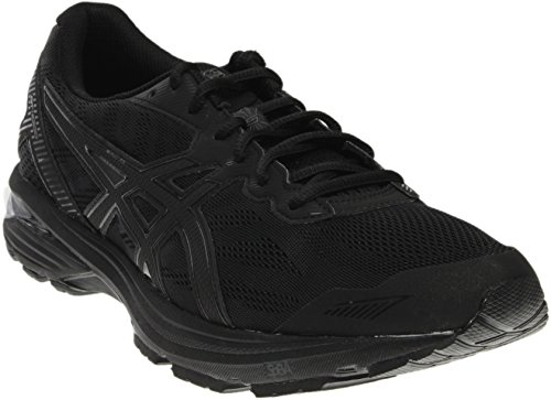 5 Mens Running Shoes (ASICS Men's Gt-1000 5 Running Shoe, Black/Onyx/Black, 11 M US)