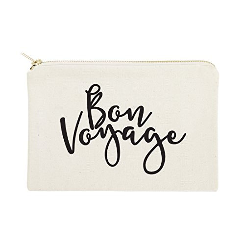 - The Cotton & Canvas Co. Bon Voyage Cosmetic Bag and Travel Make Up Pouch