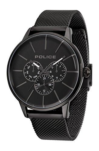 Police Men Watch SWIFT PL.14999JSB/02MM Mesh Bracelet 49 mm