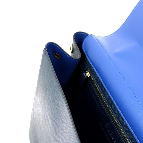 H 15x23x41 Borsa x Guess a Mano Donna Aria L W Blue cm x C4wfxqAz