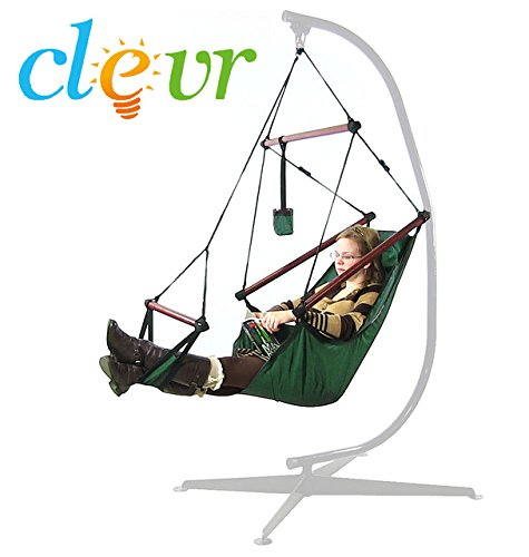 Cheap New Deluxe Hammock Hanging Patio Tree Sky Swing Chair Outdoor Porch Lounge