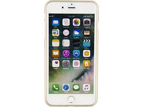 Etui de protection pour telephone Metallic Gelly Case Apple iPhone 7 Or