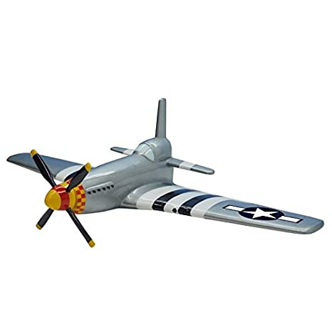North American Aviation P-51 Mustang WWII Fighter Plane 3D Wall Decor