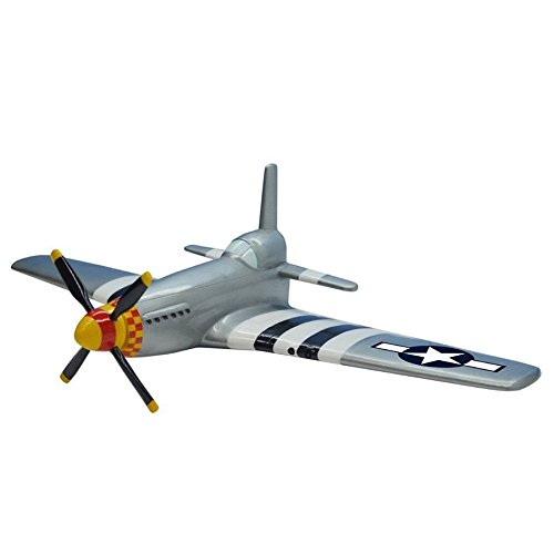 North American Aviation P-51 Mustang WWII Fighter Plane 3D Wall (Mustang Ww2 Fighter)