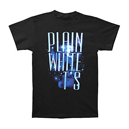 Plain White Ts Men's Space Slim Fit T-shirt X-Large Black