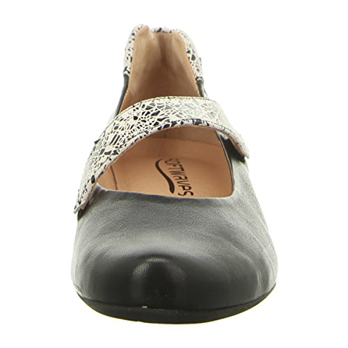 Donna Ballerine lotus black crackle lotus black crackle 6.21.37