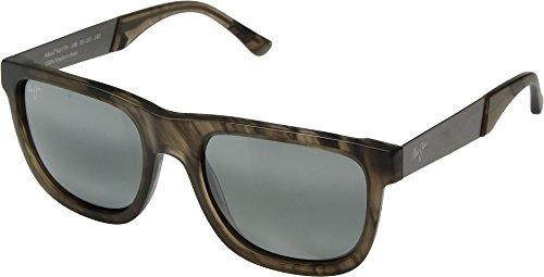 (Maui Jim  Sunglasses | Talk Story 779-14B | Stormy Grey Classic Frame, Polarized Neutral Grey Lenses, with Patented PolarizedPlus2 Lens Technology)