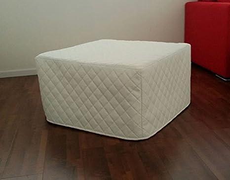 Ponti Divani-SEVEN-Puf cama de matrimonio con colchón de 10 cm de gran calidad y red italiana sintética acolchado traslado en el plazo de 24 horas.