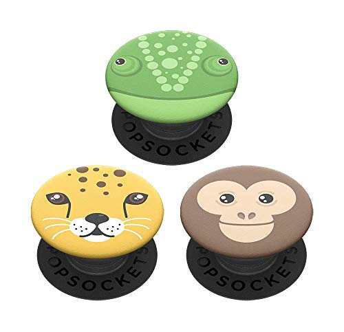 PopSockets PopMinis: Mini Grips for Phones & Tablets (3 Pack) - Wild Side