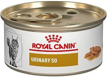 Royal Canin Veterinary Diet Urinary SO Morsels in Gravy Canned Cat Food 12 3 oz