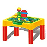 DYMAS Intellectual Toy Multi-Function Puzzle Spelling Study Desk With Stool