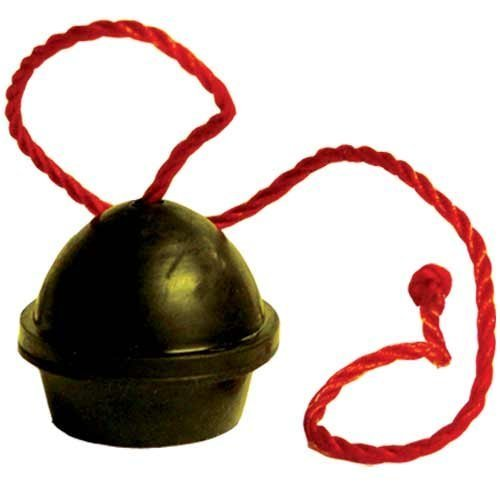 Black Rubber Chalk Holder on a String by Southern Game Rooms