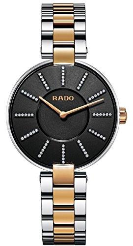 (Rado R22850713 Coupole Jubile Ladies Watch - Black)