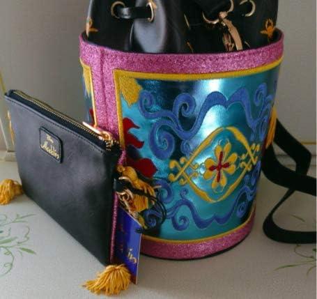 アラジン マジックカーペット ショルダーバッグ ポーチウォレット セット 海外輸入品 入手困難 Disney.com コラボ
