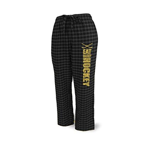 ChalkTalkSPORTS Hockey Lounge Pants Eat Sleep Hockey (Hockey Pjs For Boys)