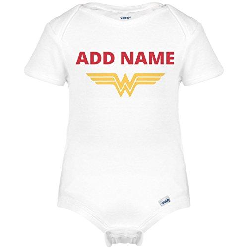 Wonder Woman Parody Onesie: Infant Gerber Onesies