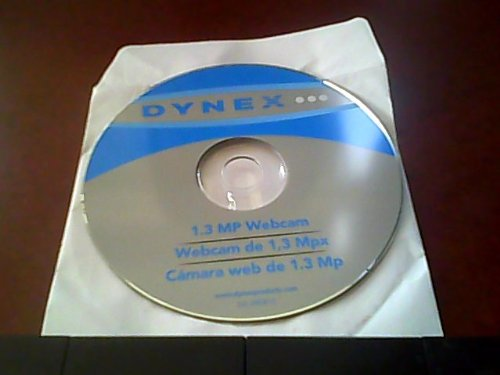 Pc Cd-rom Software Drivers---dx-web1c---for People WHO Need the Orignal Software Cd-rom (Dynex Webcam De 1,3 Mpx)(dynex Camara Web De 1.3 Mp) (Dynex Pc)