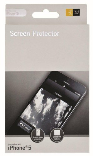 Case Logic Cl-Iph5-Clr Clear Iphone® 5 Screen Protector
