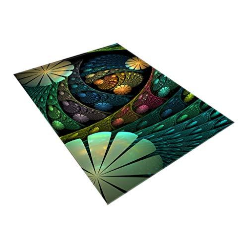 - FeiFei66 Creative Notre Dame Photo Commemorative Day Comfortable Carpet Home Decor 120x180CM (D)