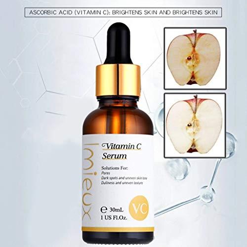 41LXpECeMYL - kitt Facial Vitamin Serum 30ml, Dark Spots Corrective Moisturizing Firming Repair Scar Facial Serum - Anti-Aging, Whiten, Brighten Skin (Multicolor)