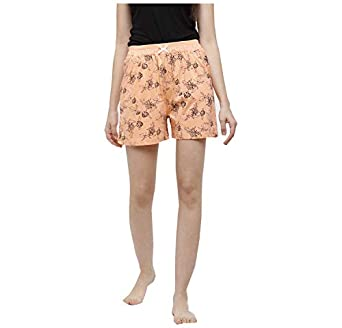 Peach Blossom Women's Printed Casual Shorts