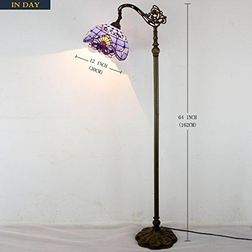 Discount Lamp: CHEAP Tiffany Style Reading Floor Lamp Table Desk Lighting