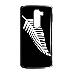 Newzealand Rugby Logo LG G2 Cell Phone Case Black JR5188634