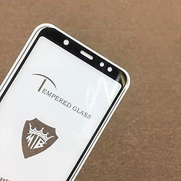 Screen Protectors for Phone Color : Gold Pokjsofjnjlfkl Phone Products 25 PCS Full Screen Full Glue Anti-Fingerprint Tempered Glass Film for Galaxy A6+ Black 2018