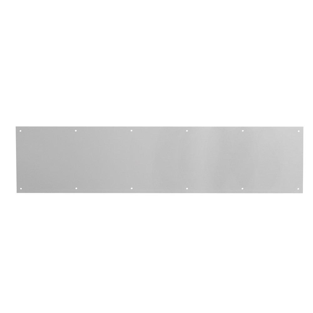 Prime-Line Products J 4616 Door Kickplate, 8-Inch x 34-Inch, Satin Aluminum