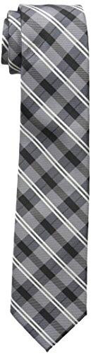 Dockers Big Boys Dockers Boys Plaid Tie, Grey, OS