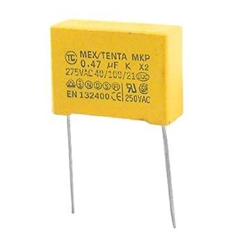 1 x MEX 0,47uF 275v película de polipropileno