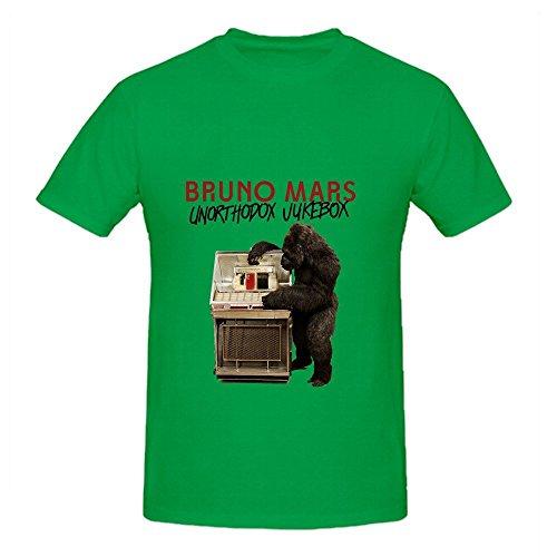 Bruno Mars Unorthodox Jukebox Greatest Hits Mens Round Neck Customized Shirt