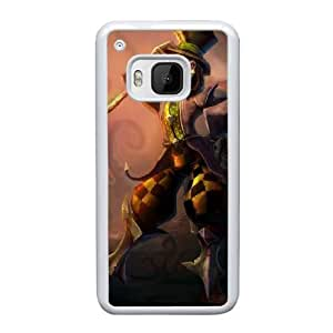HTC One M9 Cell Phone Case White League of Legends-Mad Hatter Shaco AS7YD3568511