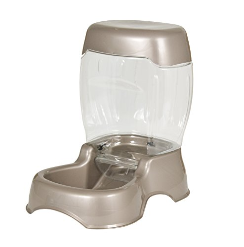 Auto Feeder - Petmate Pet Cafe Feeder Dog and Cat Feeder Pearlescent Colors 3 Sizes