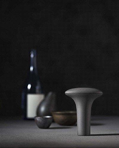 DENSOデンソー261700-0300四合瓶専用酒セーバーSAKESAVER(黒陶器色)SKS-100B
