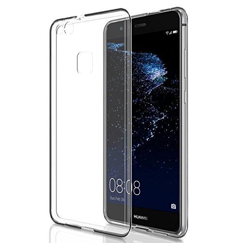 Huawei P10 Lite Hülle, Acelive Transparent TPU Silikon Handyhülle Schutzhülle Case für Huawei P10 Lite