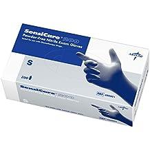 Medline Sensicare 200 Non-Sterile Powder-Free Latex-Free Nitrile Exam Gloves