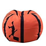 Large Toy Storage Bag - Stuffed Animal Storage Bean Bag Chair for Kids- Large Organization Sack Chair for Toys Blankets Covers Towels Clothes