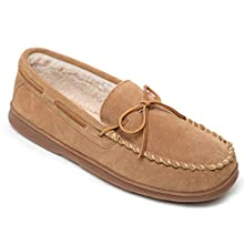 Sperry Men's Trapper Cup Sole Pile Lined Slipper, Cinnamon, 11 M US
