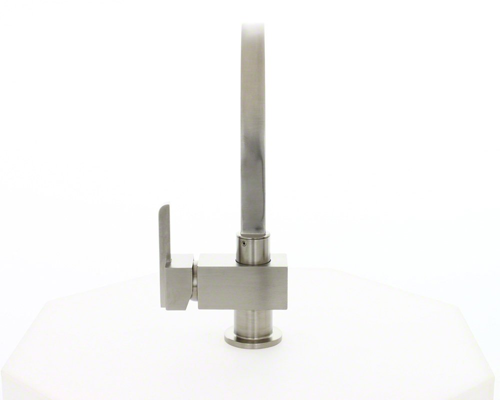 MR Direct 712-bn Brushed Nickel Single Handle Kitchen Faucet 712BN