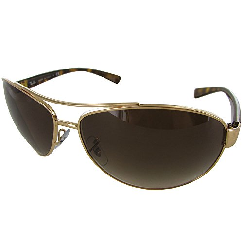 bf0653229d Ray-Ban Sunglasses - RB3386   Frame  Gold Lens  Brown Gradient (63mm) - Buy  Online in Oman.