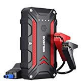 Adakiit 1200A Portable Car Battery Jump Starter, Waterproof Jump Start Battery Pack (up to 7.5L Gas, 6.0L Diesel Engine) 12V Lithium Auto Battery Booster Power Pack for Cars Truck SUV (1200A)