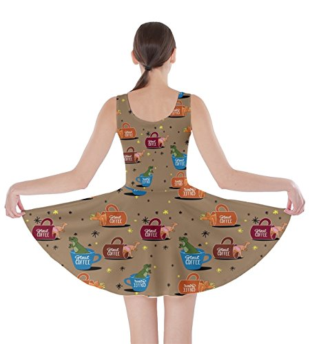 CowCow - Vestido - para mujer moca