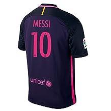 Nike Messi #10 FC Barcelona Away Men's Soccer Jersey 2016/17
