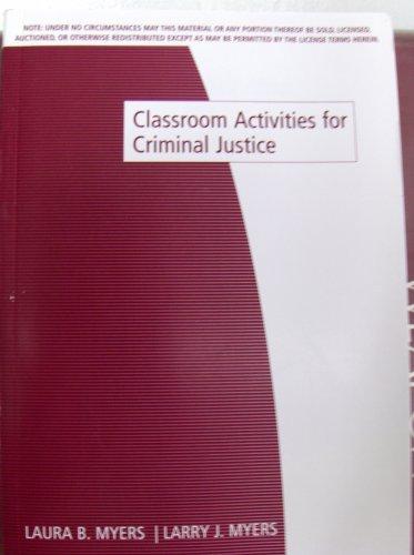 Classroom Act Criminal Justice PDF