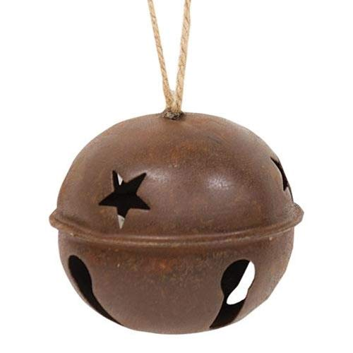Rusty Extra Large Jingle Bell Star Cut Outs Country Primitive Craft Décor from BCD