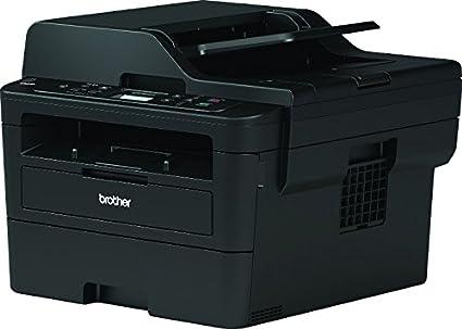 Brother DCPL2550DN - Impresora multifunción láser monocromo con red cableada, impresión automática a doble cara y ADF de 50 hojas (34 ppm, USB 2.0, ...