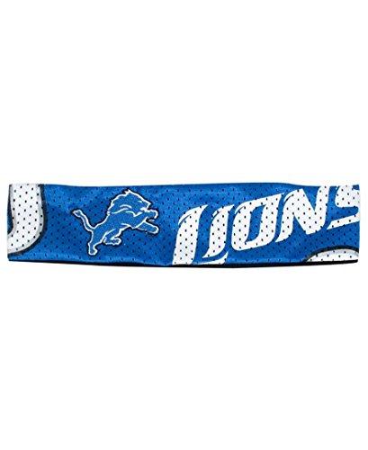 Littlearth NFL Detroit Lions Womens Nflnfl FanBand, Blue, One Size